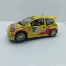 Scalextric: CITROEN C2 J WRC SCX. Lote 289729898