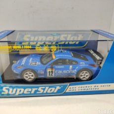 Scalextric: SUPERSLOT CALSONIC NISSAN IMPUL Z 2004 N°12 REF. H2722 SCALEXTRIC UK. Lote 293704263