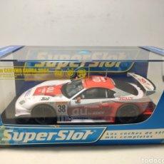 Scalextric: SUPERSLOT TOYOTA CERUMO SUPRA 2004 N°38 REF. H2718 SCALEXTRIC UK. Lote 294063708