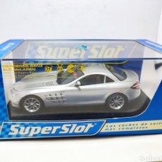 Scalextric: SUPERSLOT MERCEDES BENZ SLR MCLAREN ROAD CAR REF. H2632 SCALEXTRIC UK. Lote 294075458