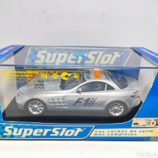 Scalextric: SUPERSLOT MERCEDES BENZ SLR MCLAREN F1 SAFETY CAR REF. H2756 SCALEXTRIC UK. Lote 294842538
