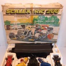 Scalextric: SCALEXTRIC 200 GRAN BRETAÑA AÑO 1981. Lote 295426578