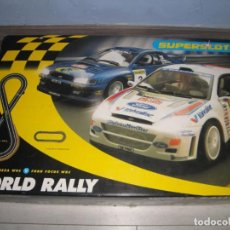 Scalextric: CAJA WORLD RALLY SUPERSLOT. Lote 296708418