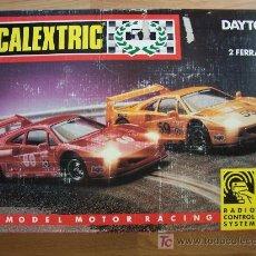 Scalextric: SCALEXTRIC DAYTONA - CON 2 FERRARI F-40.. Lote 23541756