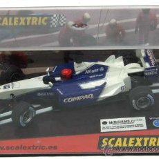 Scalextric: WILLIAMS F1 TEAM SCALEXTRIC BLANCO Y AZUL CON SU CAJA. Lote 12484037