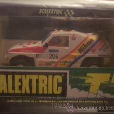 Scalextric: MITSUBISHI PAJERO TT SCALEXTRIC TECNITOYS.EXCLUSIVO.EDICION LIMITADA Y NUMERADA 2000 UNIDADES.NUEVO.. Lote 26423598