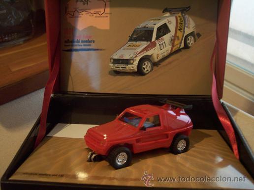 MITSUBISHI MONTERO SCALEXTRIC IMPORTADO MITSUBISHICOMPETITION. EDICION LIMITADA Y NUMERADA 1500 (Juguetes - Slot Cars - Scalextric Tecnitoys)