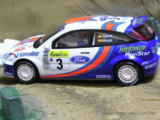 FORD FOCUS WRC SCALEXTRIC CARLOS SAINZ ALTAYA (Juguetes - Slot Cars - Scalextric Tecnitoys)