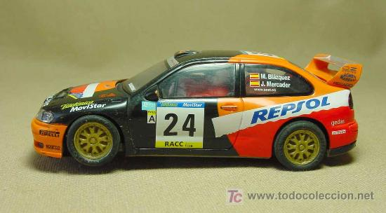 Scalextric: SLOT CAR, SCALEXTRIC TECNI TOYS, SEAT CORDOBA, WRC - Foto 5 - 19534773