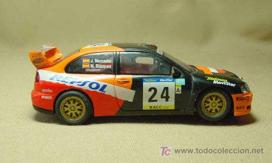 Scalextric: SLOT CAR, SCALEXTRIC TECNI TOYS, SEAT CORDOBA, WRC - Foto 6 - 19534773