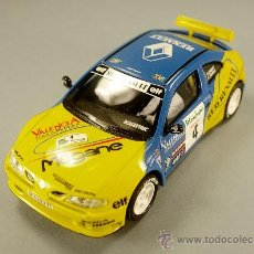 Scalextric: RENAULT MAXI MEGANE RALLY EL CORTE INGLÉS - CLIMENT - SCALEXTRIC TECNITOYS - 1/32 - NUEVO SIN MOTOR. Lote 27331929