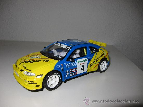 RENAULT MAXI MEGANE SCALEXTRIC ALTAYA (Juguetes - Slot Cars - Scalextric Tecnitoys)