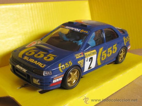 Subaru impreza 555 sainz moya montecarlo 94 comprar scalextric tecnitoys en todocoleccion - Decoracion scalextric ...