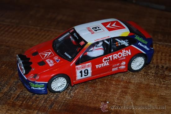 CITROEN XSARA. SCALEXTRIC. !!! (Juguetes - Slot Cars - Scalextric Tecnitoys)