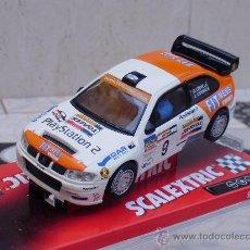 """Scalextric: SEAT CORDOBA WRC """"A. CRIVILLÉ"""" RALLY DE OURENSE DE SCX. EDICIÓN LIMITADA.. Lote 54806166"""