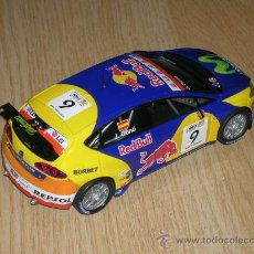 Scalextric: SEAT LEON WTCC SCALECTRIC. Lote 29012757
