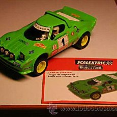 Scalextric: SCALEXTRIC LANCIA STRATOS ALTAYA SERIE LIMITADA - MAGIC CARS. Lote 31790236