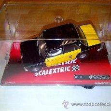 Scalextric: SLOT 1:32 SCALEXTRIC SEAT 1430 TAXI BARCELONA, (TECNITOYS) NUEVO EDICION LIMITADA, NUEVO. Lote 32279501