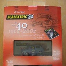 Scalextric: PACK 40 ANIVERSARIO SCALEXTRIC ESPAÑA - SEAT 600. Lote 32547998