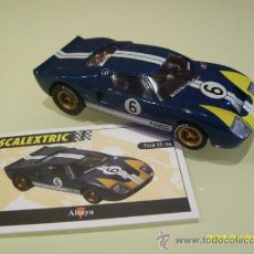 Scalextric: SCALEXTRIC. ALTAYA. FORD GT-40. COLECCIÓN COCHES MÍTICOS. . Lote 83508947