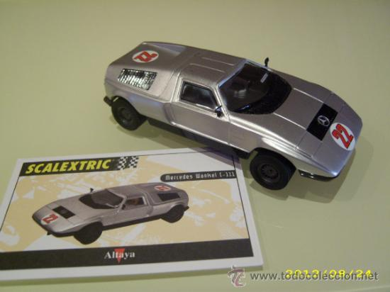 SCALEXTRIC. ALTAYA. MERCEDES WANKEL C-111. COLECCIÓN COCHES MÍTICOS. (Juguetes - Slot Cars - Scalextric Tecnitoys)