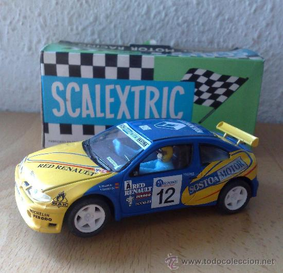 RENAULT MAXI MEGANE SCALEXTRIC (Juguetes - Slot Cars - Scalextric Tecnitoys)