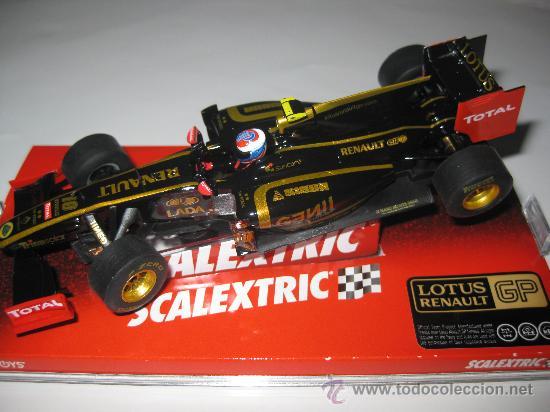 OFERTA - LOTUS RENAULT F1 Nº10 DE PETROV DE SCALEXTRIC (Juguetes - Slot Cars - Scalextric Tecnitoys)