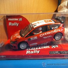 Scalextric: SCALEXTRIC CITROEN C4 WRC RALLY MONTECARLO. Lote 34737992