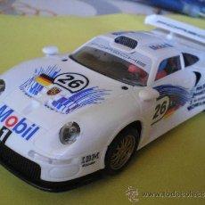 Scalextric: SCALEXTRIC TECNITOYS 911 GT 1 COMO NUEVO SIN CAJA. Lote 35070049