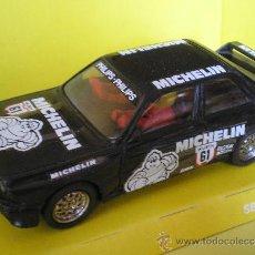 Scalextric: SCALEXTRIC EXIN BMW M3 MICHELIN COMO NUEVO CAJA Y INSTRUCCIONES ORIGINALES. Lote 37184928