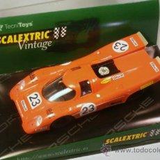 Scalextric: SCALEXTRIC TECNITOYS VINTAGE. PORSCHE 917. SERIE LIMITADA.. Lote 36698992