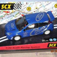 Scalextric: FORD FOCUS WRC VALVOLINE DIFICIL NUEVO. Lote 36977527