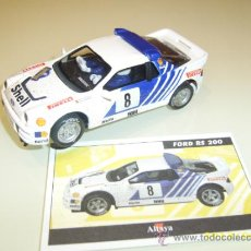 Scalextric: SCALEXTRIC. ALTAYA. FORD RS200. COLECCIÓN RALLY MÍTICOS.. Lote 148977234