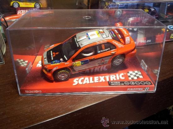 MITSUBISHI LANCER EVO VIII SCALEXTRIC TECNITOYS (Juguetes - Slot Cars - Scalextric Tecnitoys)