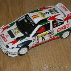 Scalextric: TOYOTA COROLLA WRC RALLY SAFARI SCALEXTRIC CARLOS SAINZ LUIS MOYA. Lote 46055080