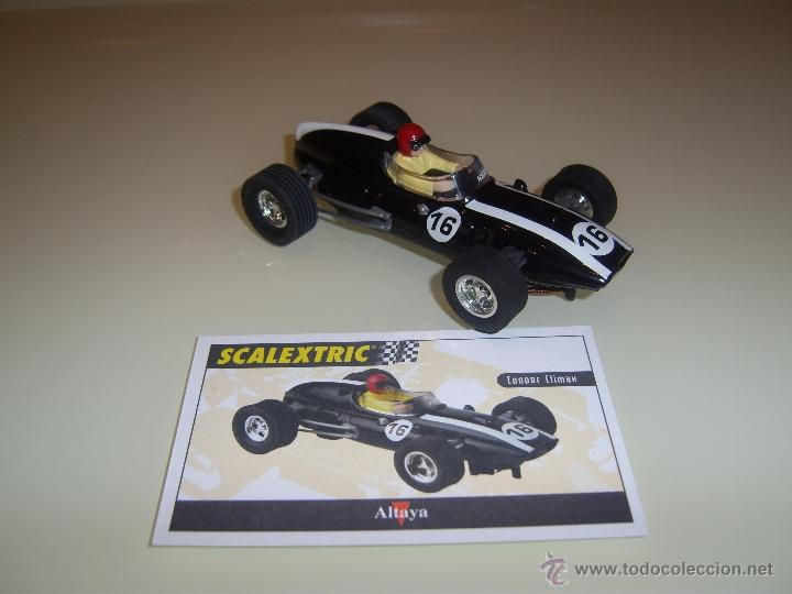 SCALEXTRIC. ALTAYA. COOPER CLIMAX. COLECCION COCHES MÍTICOS. (Juguetes - Slot Cars - Scalextric Tecnitoys)
