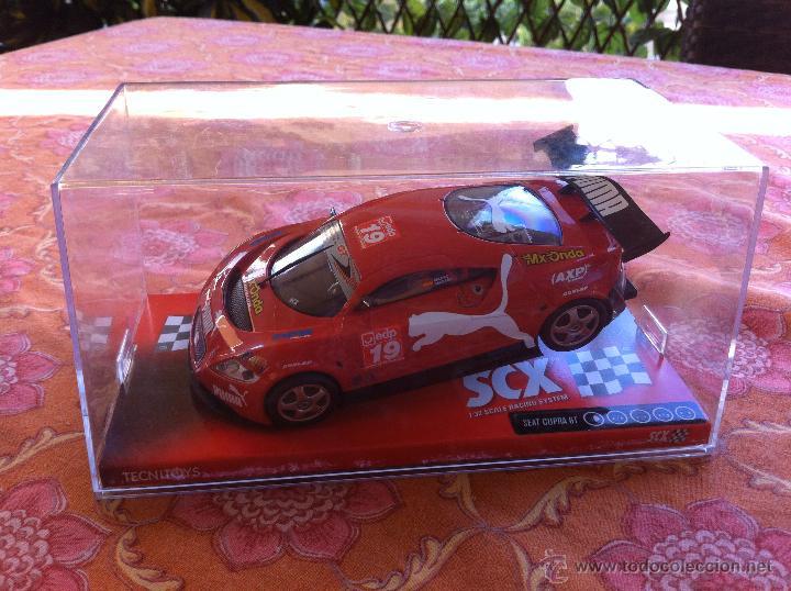 COCHE DE SCALEXTRIC SEAT CUPRA GT 2005 TECNITOYS (Juguetes - Slot Cars - Scalextric Tecnitoys)