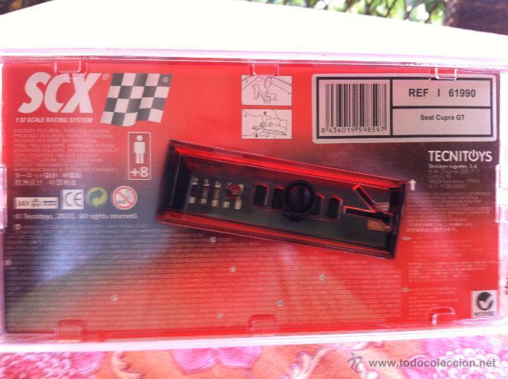Scalextric: Coche de Scalextric Seat Cupra GT 2005 Tecnitoys - Foto 2 - 39773022
