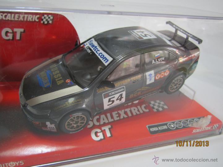 HONDA ACCORD WTCC A. LVOV NUEVO SCALEXTRIC (Juguetes - Slot Cars - Scalextric Tecnitoys)