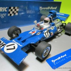 Scalextric: TYRRELL-FORD 001 F-1 VINTAGE SCALEXTRIC NUEVO. Lote 40284349