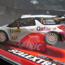Scalextric: CITROEN DS3 WRC QATAR REF. NUEVO SCALEXTRIC. Lote 40310488