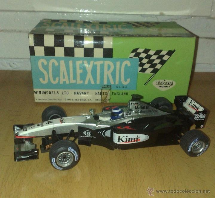 MERCEDES MCLAREN F1 SCALEXTRIC TECNITOYS (Juguetes - Slot Cars - Scalextric Tecnitoys)