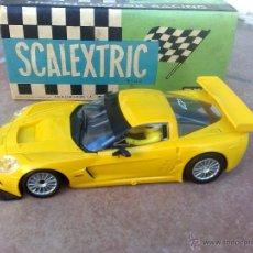 Scalextric: RAREZA, PRUEBA DE MOLDE, CORVETTE C6R SIN DECORACION SCALEXTRIC TECNITOYS, VER FOTOS !!!. Lote 41456690