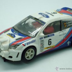 Scalextric: FORD FOCUS WRC TECNITOYS SCALEXTRIC ALTAYA. Lote 41689391