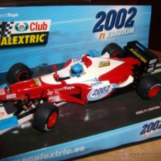 Scalextric: CLUB SCALEXTRIC TECNITOYS 2002 F1 EDITION -NUEVO. Lote 42139193
