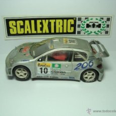 Scalextric: SCALEXTRIC PEUGEOT 206 WRC. Lote 42160995