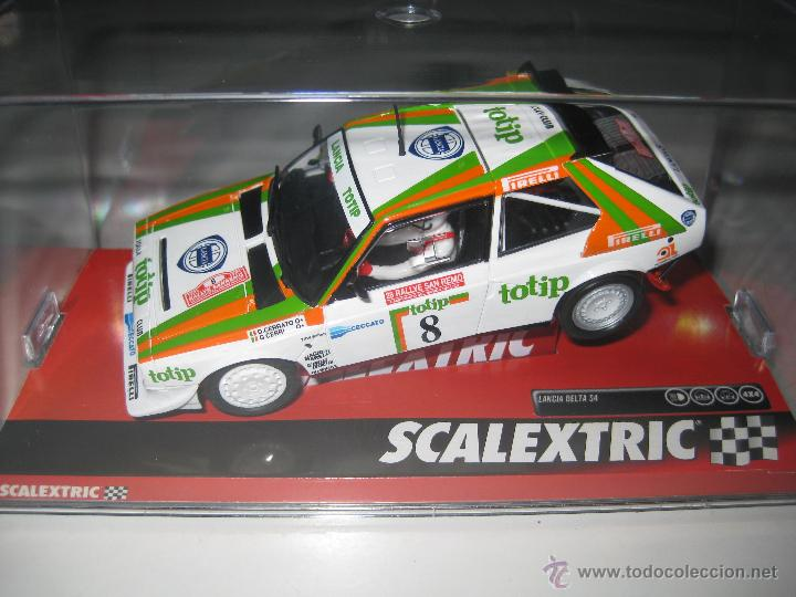 lancia delta s4 totip de scalextric - comprar scalextric tecnitoys