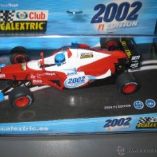 Scalextric: BLACK FRIDAY -2002 F1 EDICION ESPECIAL CLUB 2002 DE SCALEXTRIC. Lote 297017698