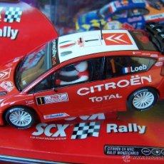 Scalextric: CITROEN C4 WRC RALLY MONTECARLO LOEB. Lote 42512464