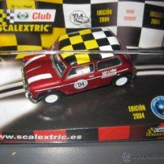 Scalextric: OFERTA - MINI COOPER EDICION ESPECIAL CLUB 2004 DE SCALEXTRIC. Lote 93775677